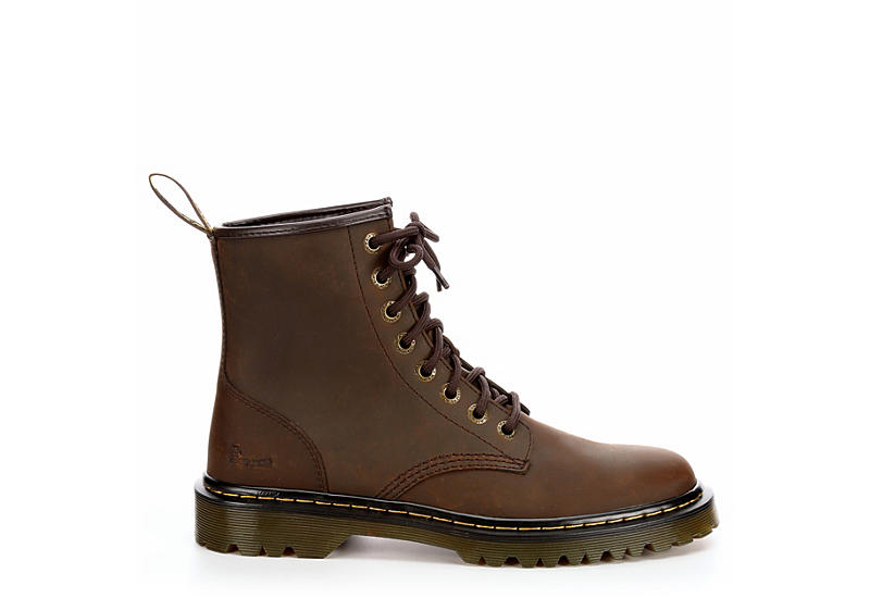 DR.MARTENS Mens Awley - BROWN