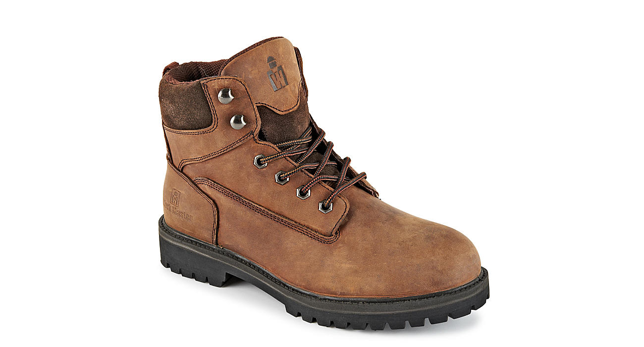 WORK MASTER Mens Crazy Horse - BROWN