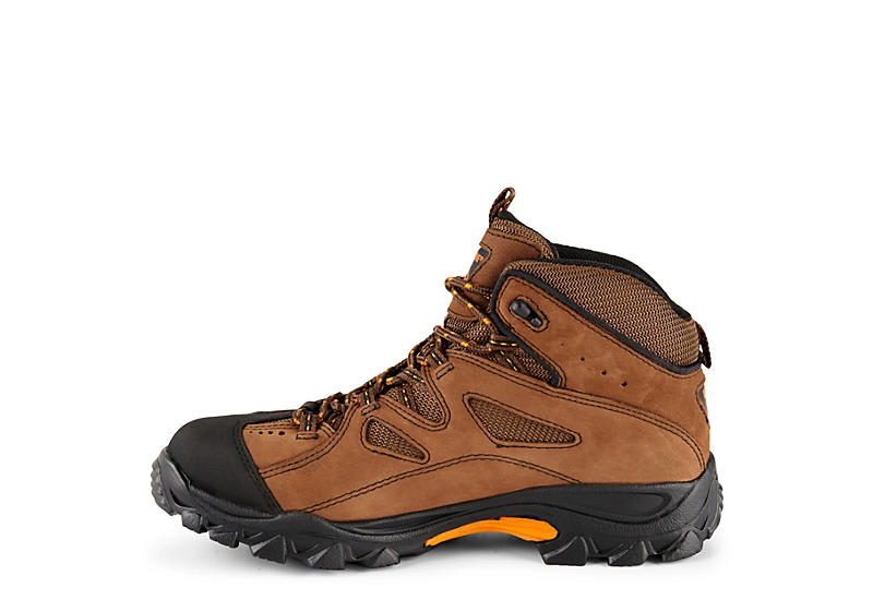 WOLVERINE Mens Steel Toe Hiker - BROWN