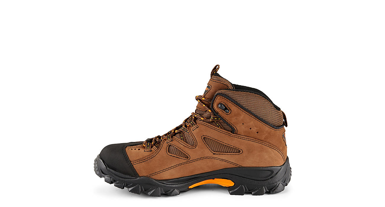 efa1c67a751 Wolverine Mens Steel Toe Hiker - Brown
