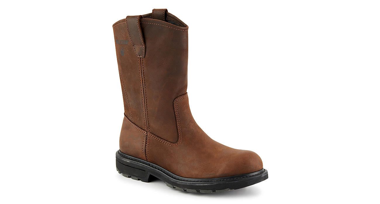 78dce5772da Wolverine Mens Wellington - Brown
