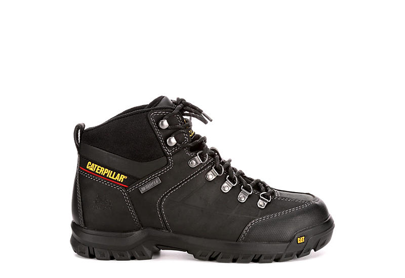 Black Caterpillar Mens Threshold Steel Toe Boots Rack Room Shoes
