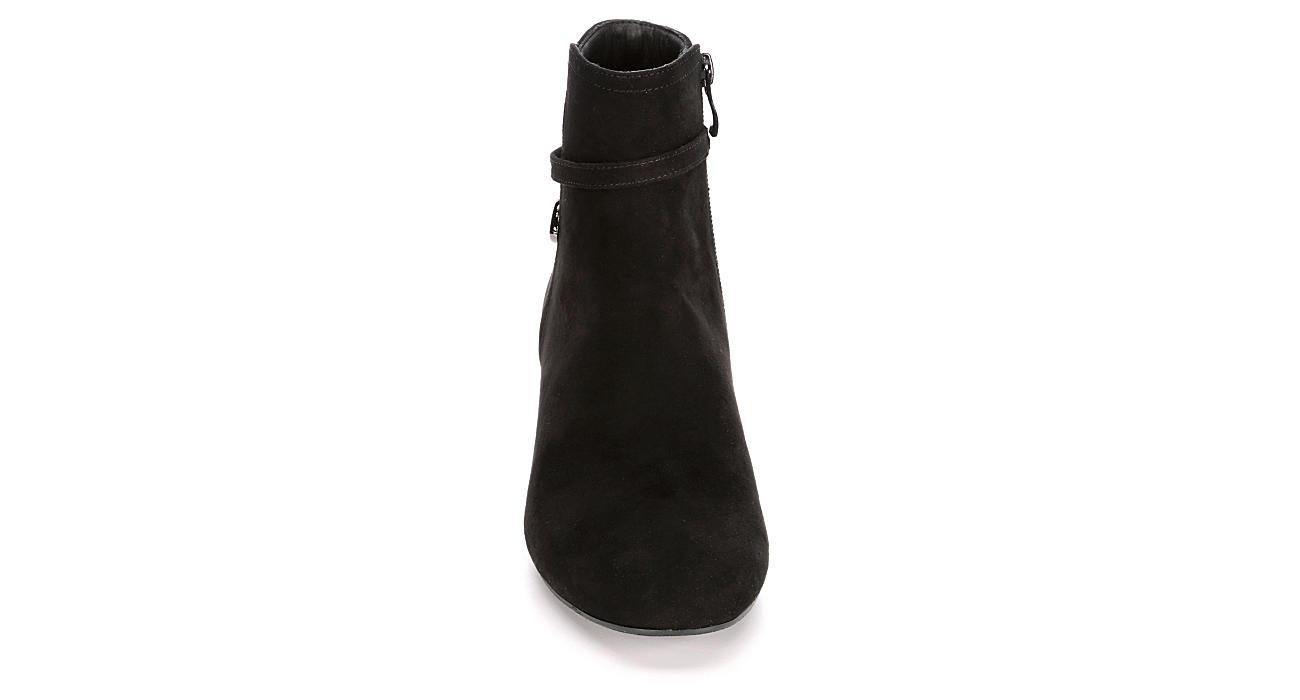 LAUREN BLAKWELL Womens Marcia Wedge Boot - BLACK