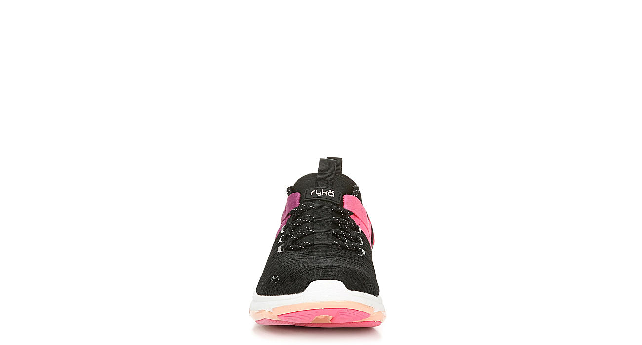 RYKA Womens Dedication Sneaker - BLACK