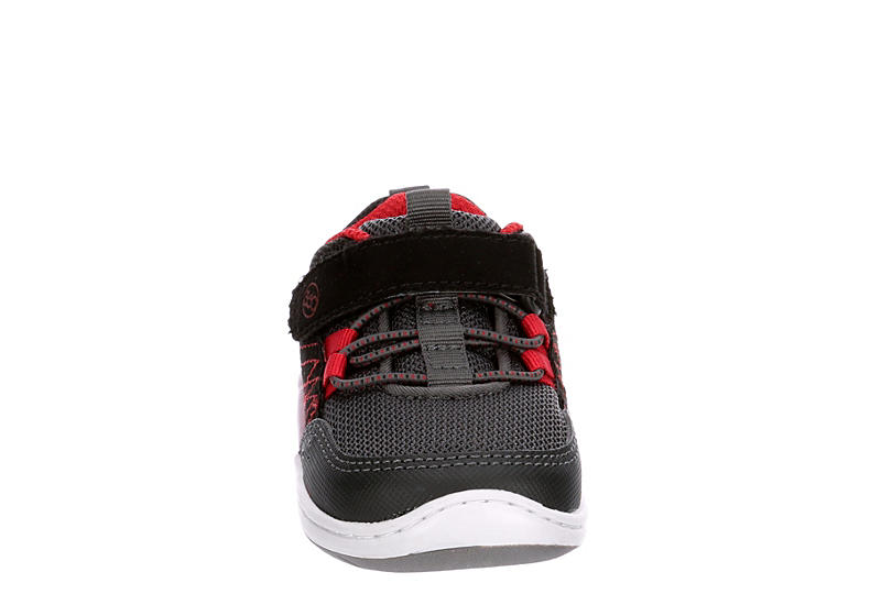 STRIDE RITE Boys Crib Keegan Slip On Sneaker - BLACK