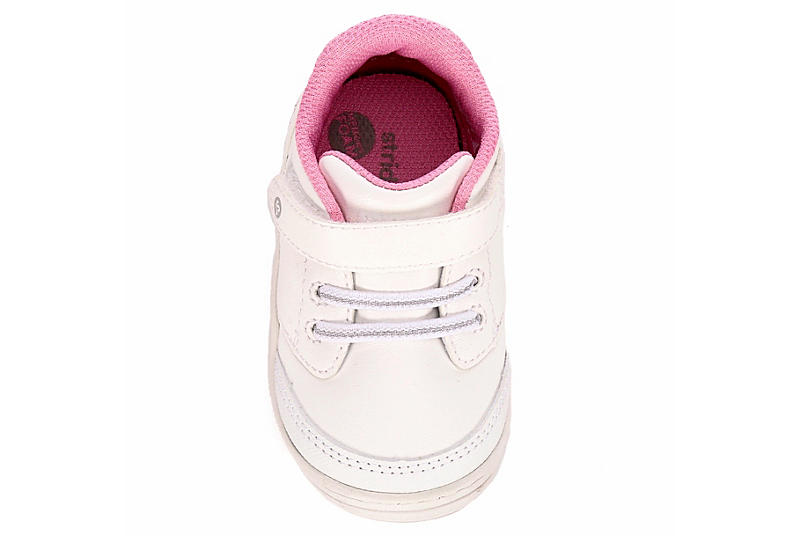 STRIDE RITE Girls Crib Taye 2.0 - WHITE