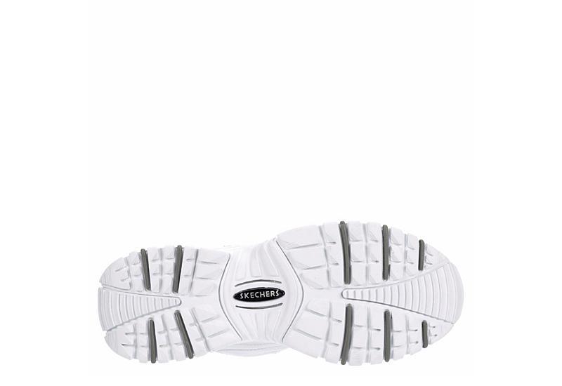 SKECHERS Womens Energy Timeless Sneaker - WHITE