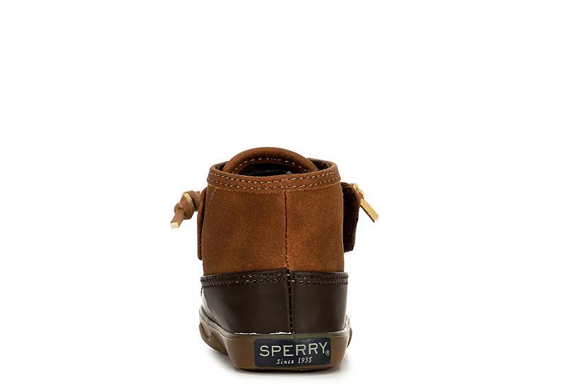 SPERRY Boys Icestorm Crib Rain Boot - TAN