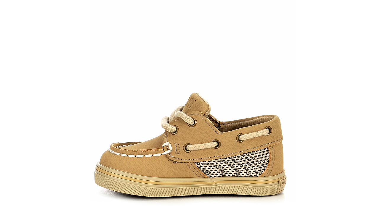 SPERRY Boys Intrepid Crib Boat Shoe - TAN