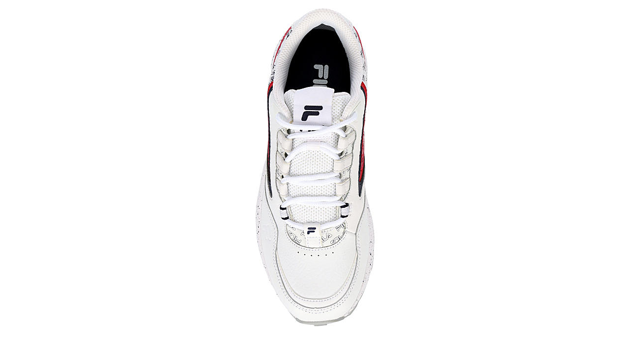 FILA Womens Clockwork Sneaker - WHITE