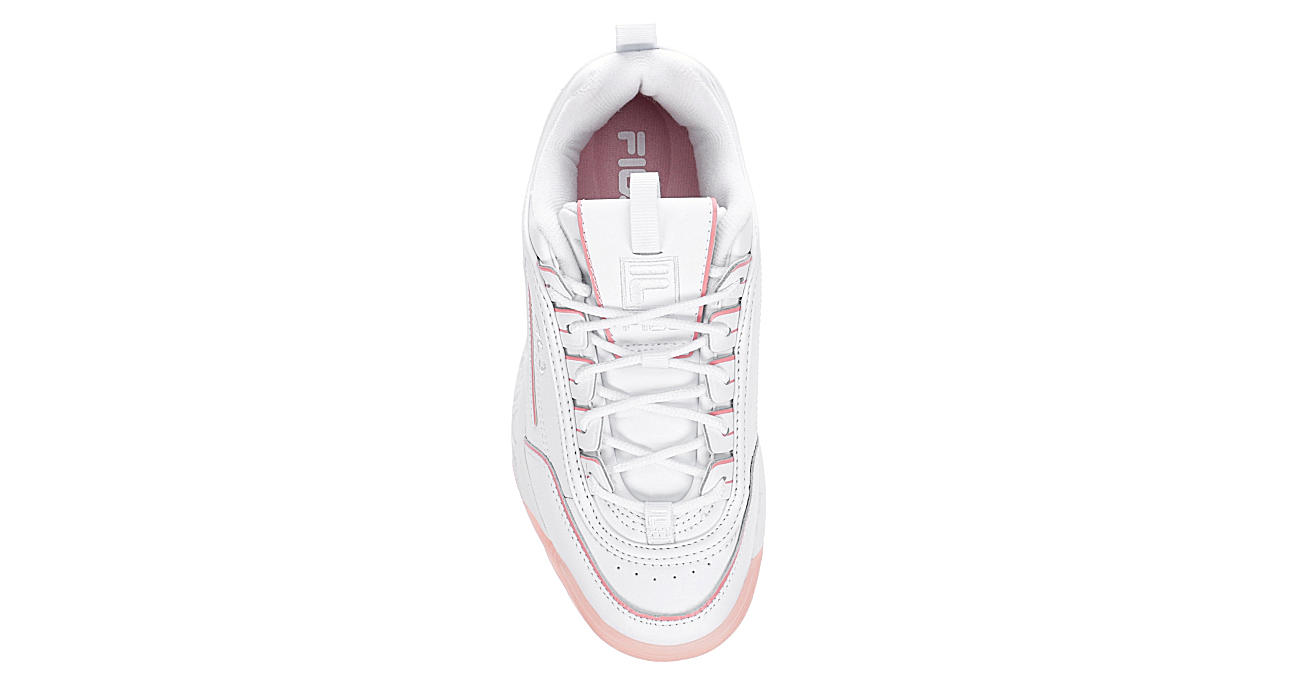 FILA Womens Disruptor Ii Ice Sneaker - WHITE