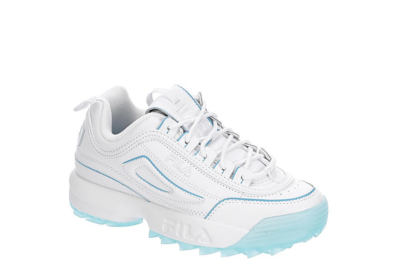 WHITE FILA Womens Disruptor Ii Ice