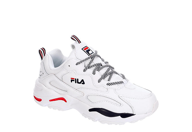 WHITE FILA Womens Ray Tracer