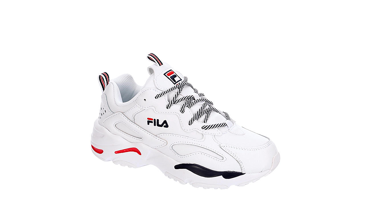 FILA Womens Ray Tracer - WHITE