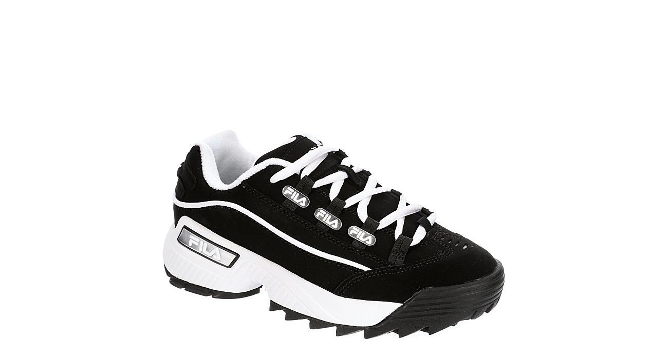 FILA Womens Hometown Sneaker - BLACK
