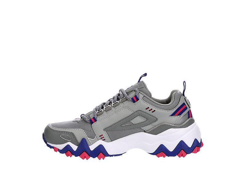 FILA Womens Oakmont Trail Sneaker - GREY