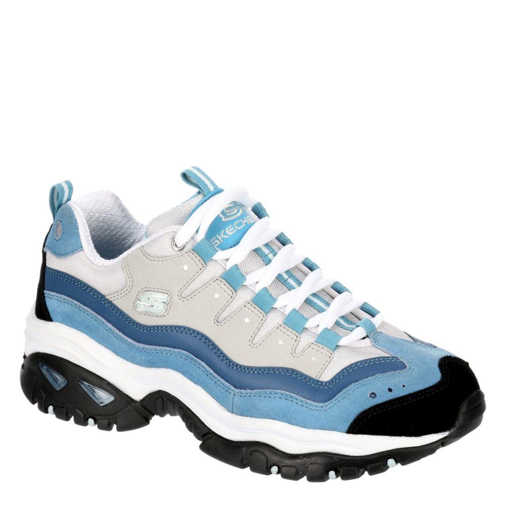 blue skechers