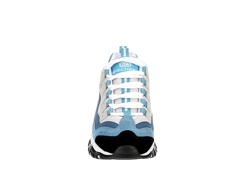 SKECHERS Womens Energy-wave Linxe Sneaker - PALE BLUE
