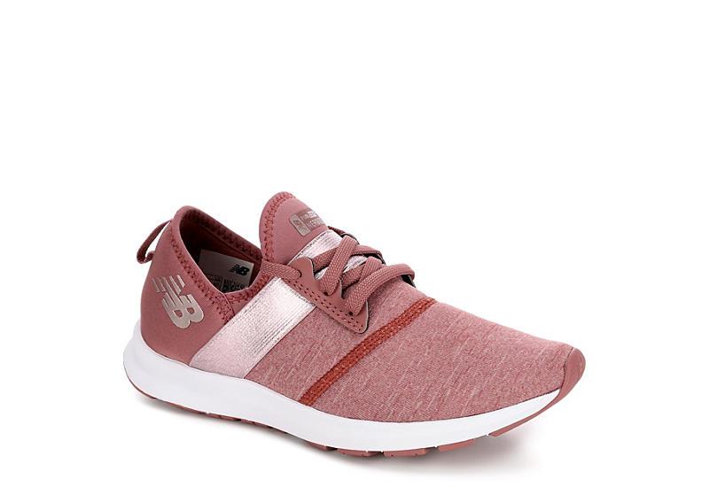 10327b0fd7bb4 Blush New Balance Womens Nergize | Athletic | Rack Room Shoes