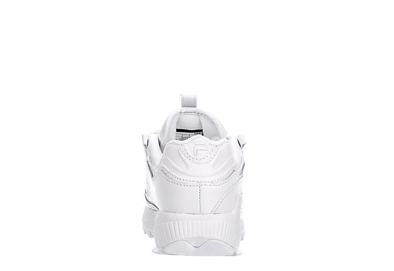 FILA Womens D-formation Sneaker - WHITE