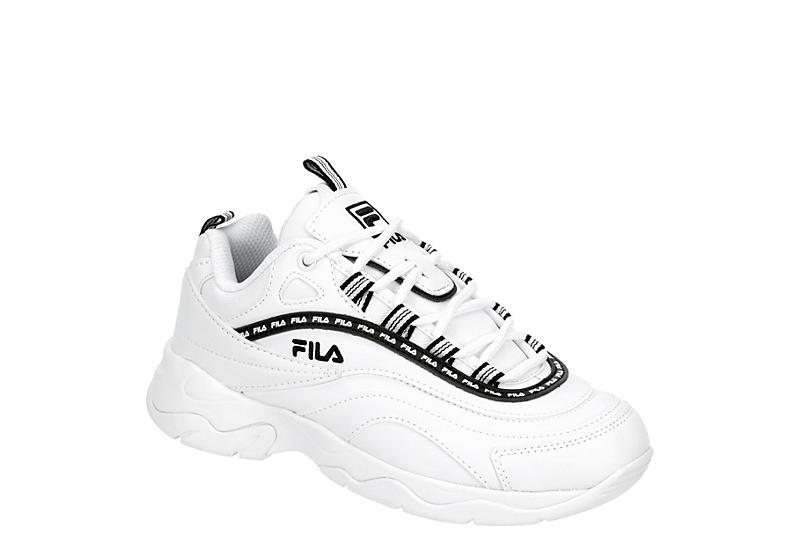 FILA Womens Ray Repeat - WHITE