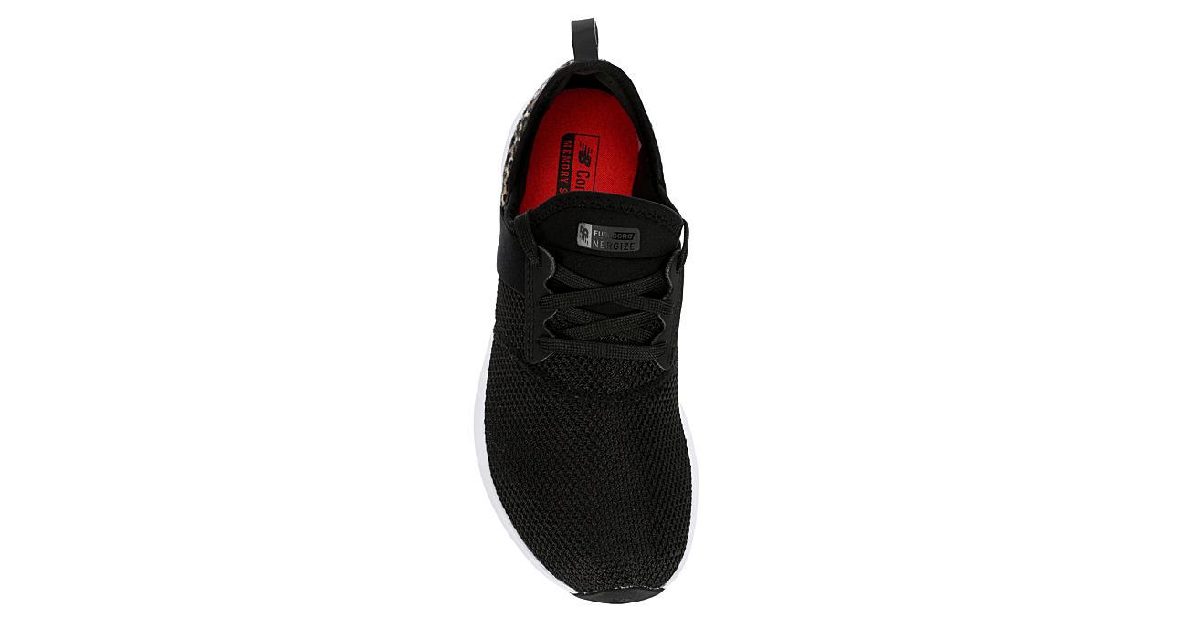 NEW BALANCE Womens Nergize Sneaker - BLACK