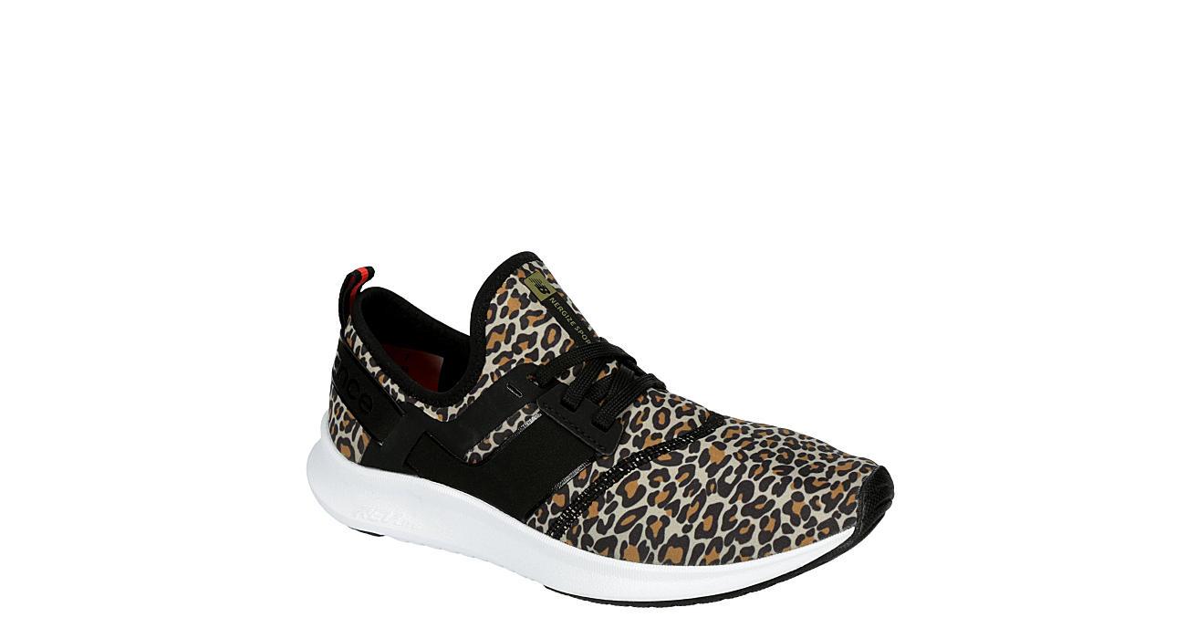 New Balance Womens Nergize Sneaker - Leopard