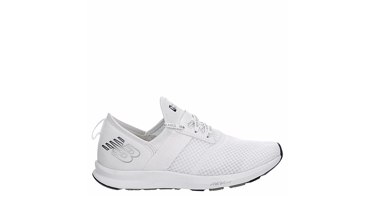 NEW BALANCE Womens Nergize Sneaker - WHITE
