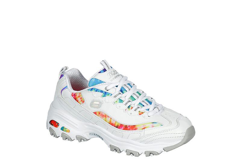 SKECHERS Womens Dlites - WHITE