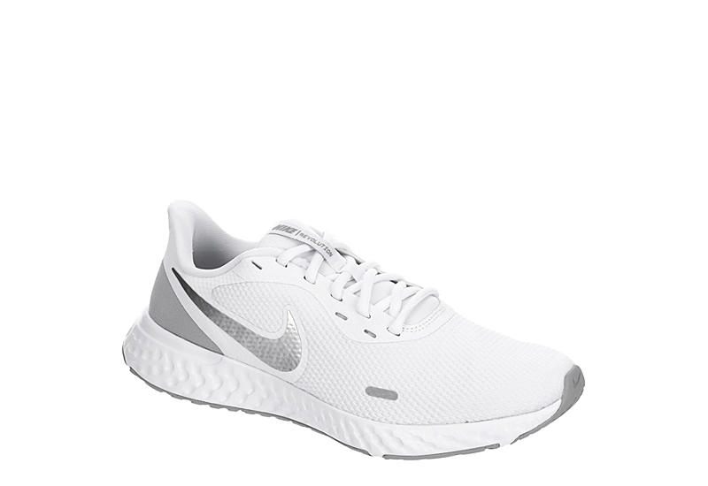 vida No autorizado En honor  White Nike Womens Revolution 5 Running Shoe | Athletic | Rack Room Shoes