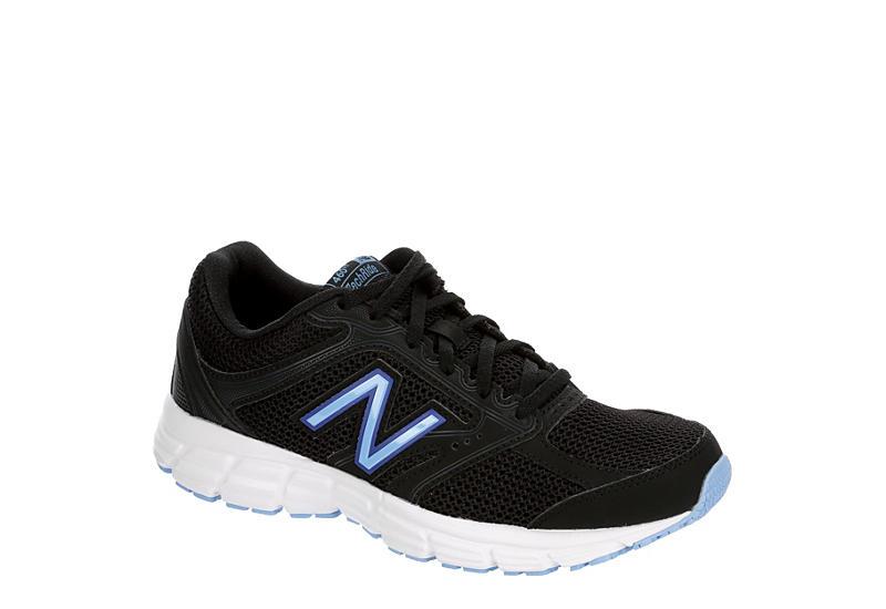 BLACK NEW BALANCE Womens 460 V2 Running Shoe