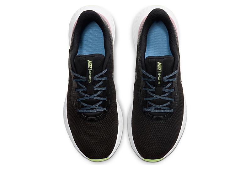 NIKE Womens Revolution 5 Running Shoe - BLACK