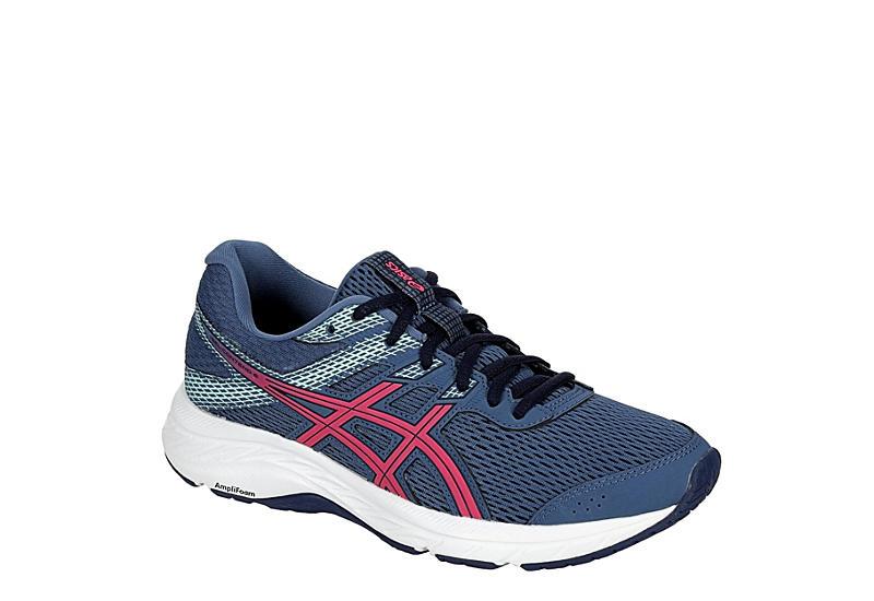 NAVY ASICS Womens Gel-contend 6 Running Shoe