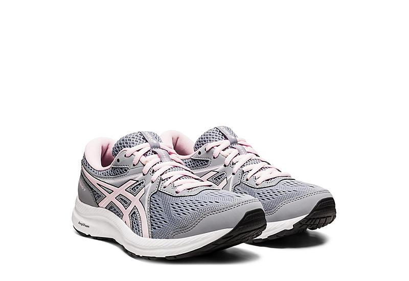 GREY ASICS Womens Gel-contend 7 Running Shoe