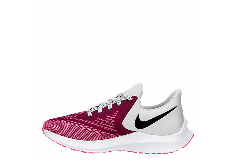 NIKE Womens Zoom Winflo 6 Running Shoe - FUSCHIA