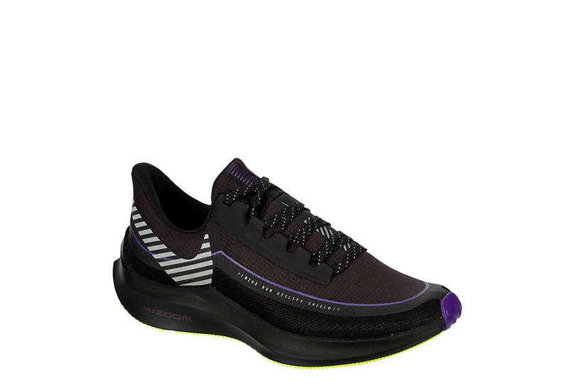 Dark Grey Nike Womens Zoom Winflo 6 Shield Running Shoe | Athletic ...