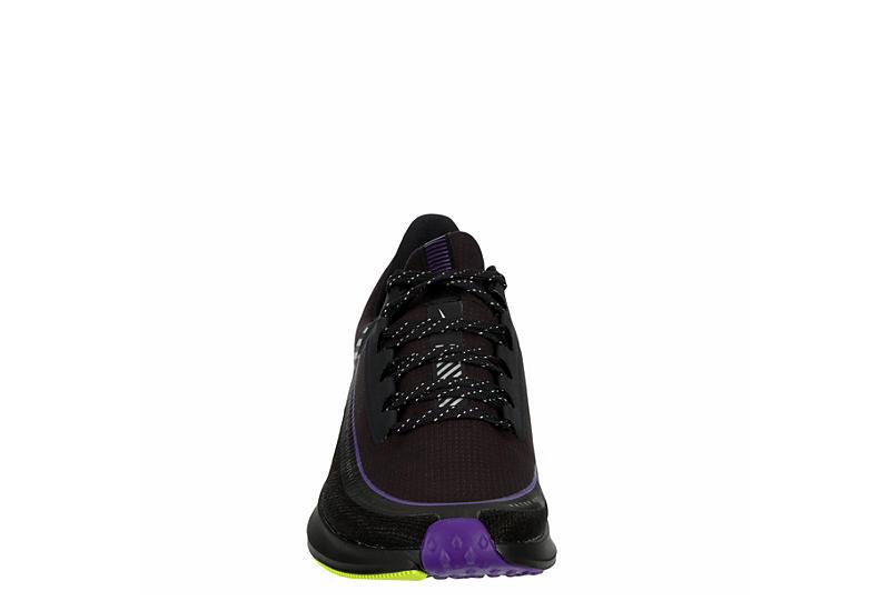 Nike Womens Zoom Winflo 6 Shield Running Shoe - Dark Grey