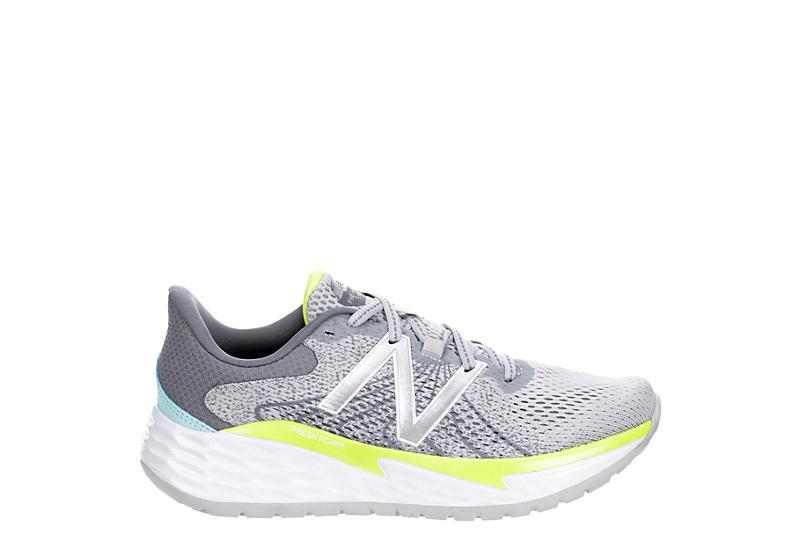 New Balance Womens Fresh Foam Evare Running Shoe - Pale Grey