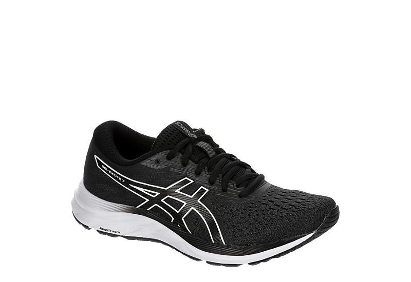 BLACK ASICS Womens Gel-excite 7 Running Shoe
