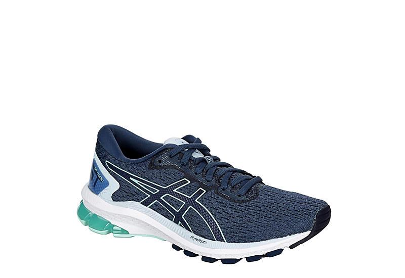 NAVY ASICS Womens Gt-1000 9 Running Shoe