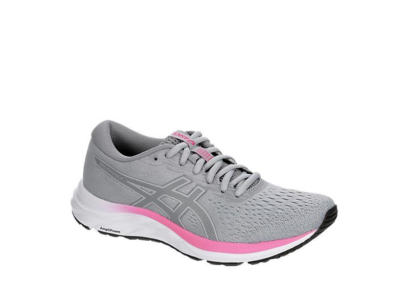 GREY ASICS Womens Gel-excite 7 Running Shoe