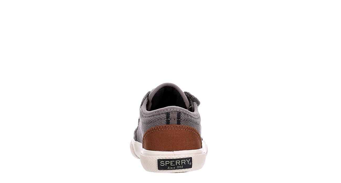 SPERRY Boys Infant Deckfin Jr. Slip On Sneaker - GREY