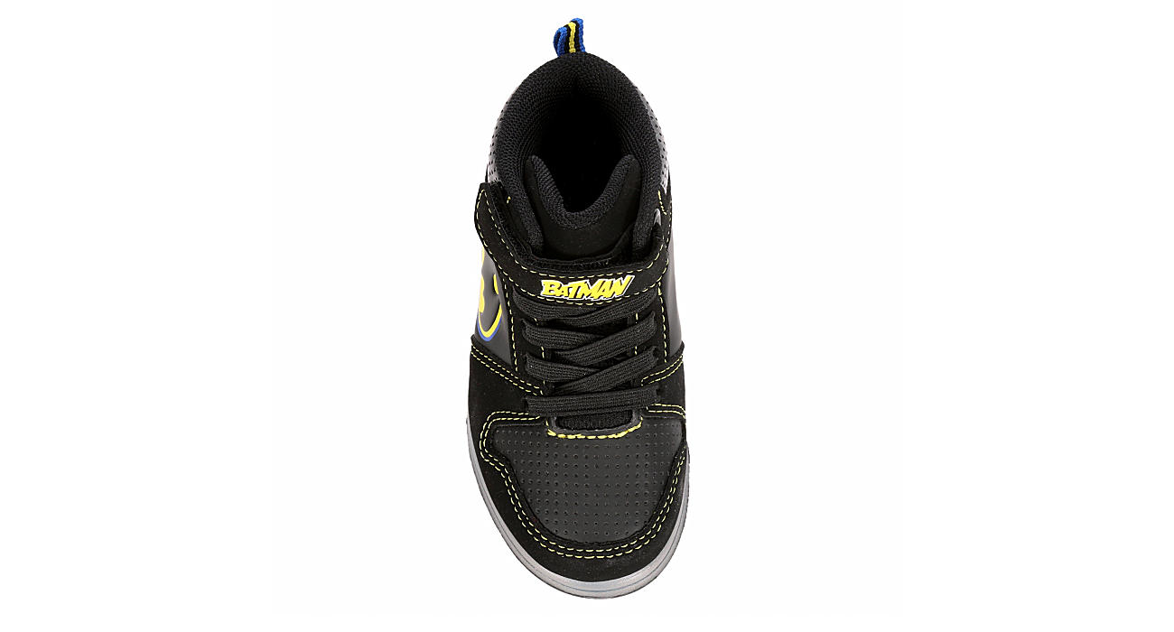 BATMAN Boys Batman High Top - BLACK
