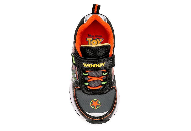 DISNEY Boys Infant Toy Story Light Up Sneaker - BLACK