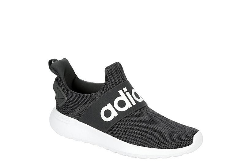 BLACK ADIDAS Womens Lite Racer Adapt Slip-on Sneaker