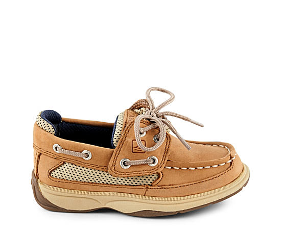 Boys Infant Lanyard Boat Shoe