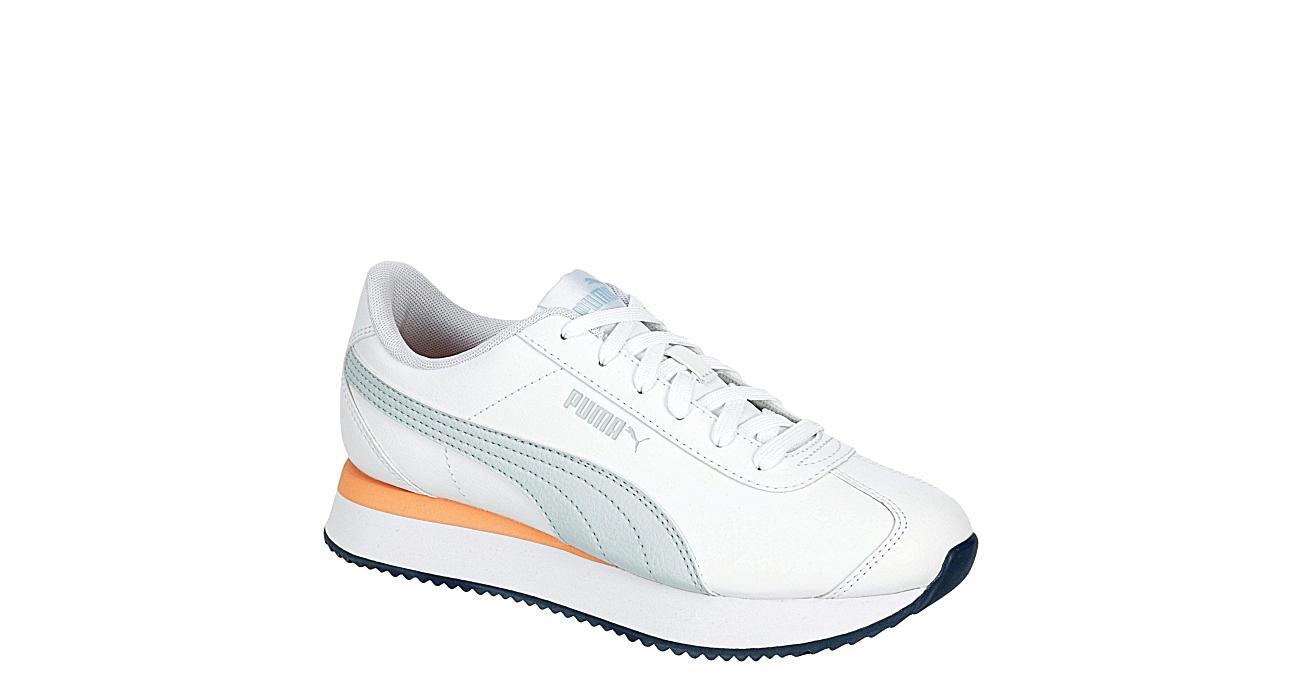 Puma Womens Turino Stack Sneaker - White