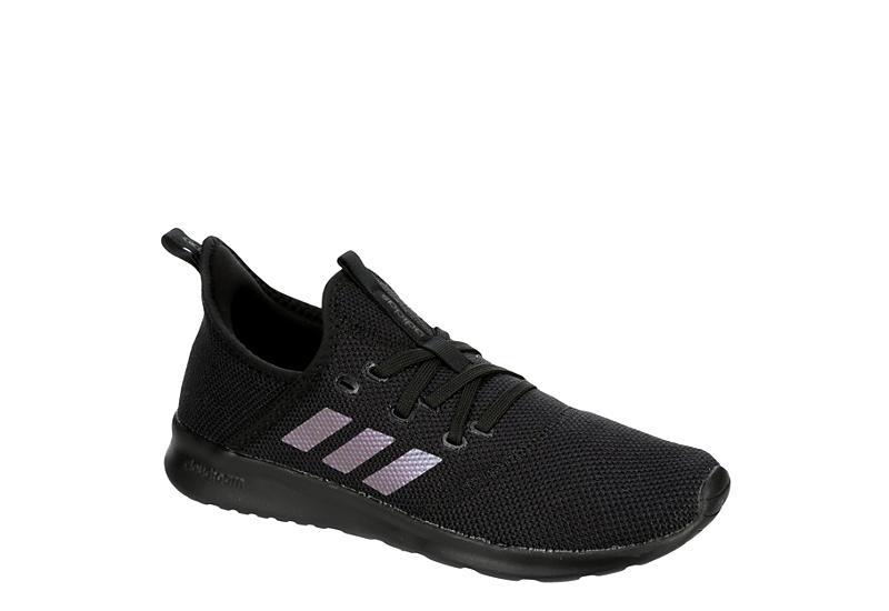 BLACK ADIDAS Womens Cloudfoam Pure Sneaker