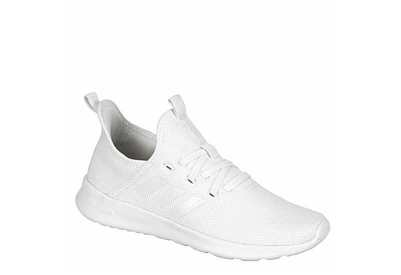 WHITE ADIDAS Womens Cloudfoam Pure Sneaker