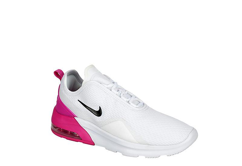 WHITE NIKE Womens Air Max Motion 2 Sneaker